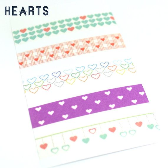 70 Washi Label Stickers for Erin Condren Life Planner - Pre Order!