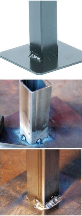 Learn to weld square tubes using MIG welding Process.
