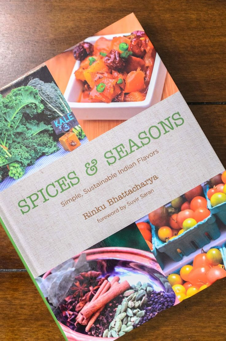 Cookbook Giveaway #5 - Spices and Seasons by Rinku Bhattacharya (Closed) ~ The Tiffin Box