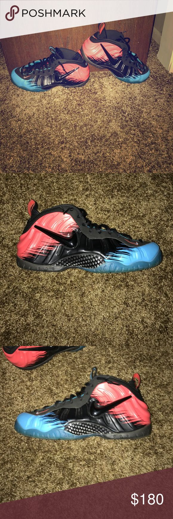 "AIR FOAMPOSITE PRO ""SPIDER-MAN"" In very good condition Nike Shoes Sneakers"