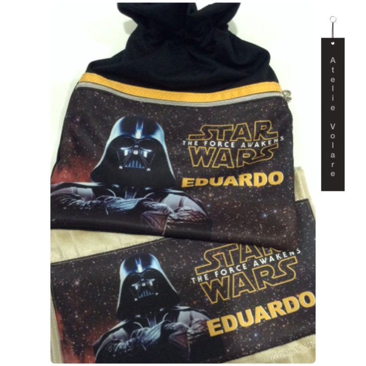 Kit Sacolinha e toalha personalizada
