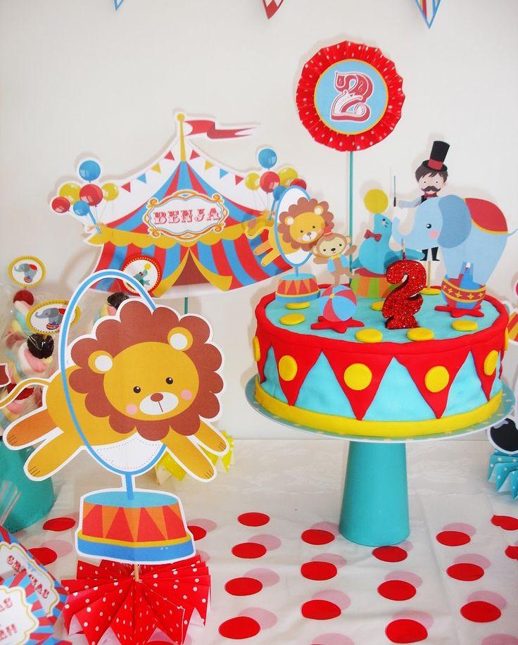 18 mejores im genes de circo en pinterest circo ideas - Ideas cumpleanos 2 anos ...