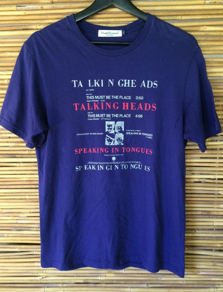 Undercover Talking Heads Lp Shirt Size S $141 - Grailed