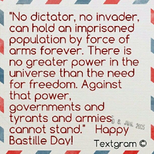 why bastille day is important