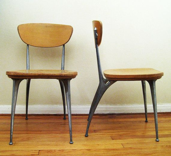 """Shelby Williams """"Gazelle"""" Chairs, 1950s"""