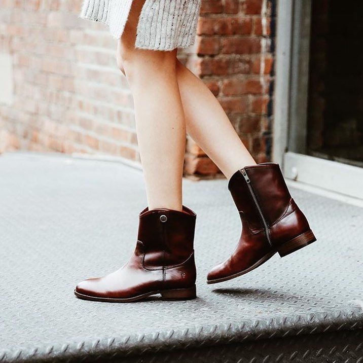 Boots, Leather boots women