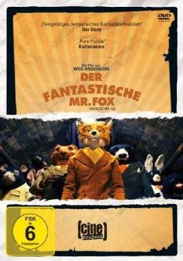 Der fantastische Mr. Fox  2009 USA      IMDB Rating 7,8 (64.887)  Darsteller: George Clooney, Meryl Streep, Jason Schwartzman, Bill Murray, Wallace Wolodarsky,