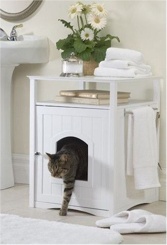 Cat Litter Box Cover and Night Stand
