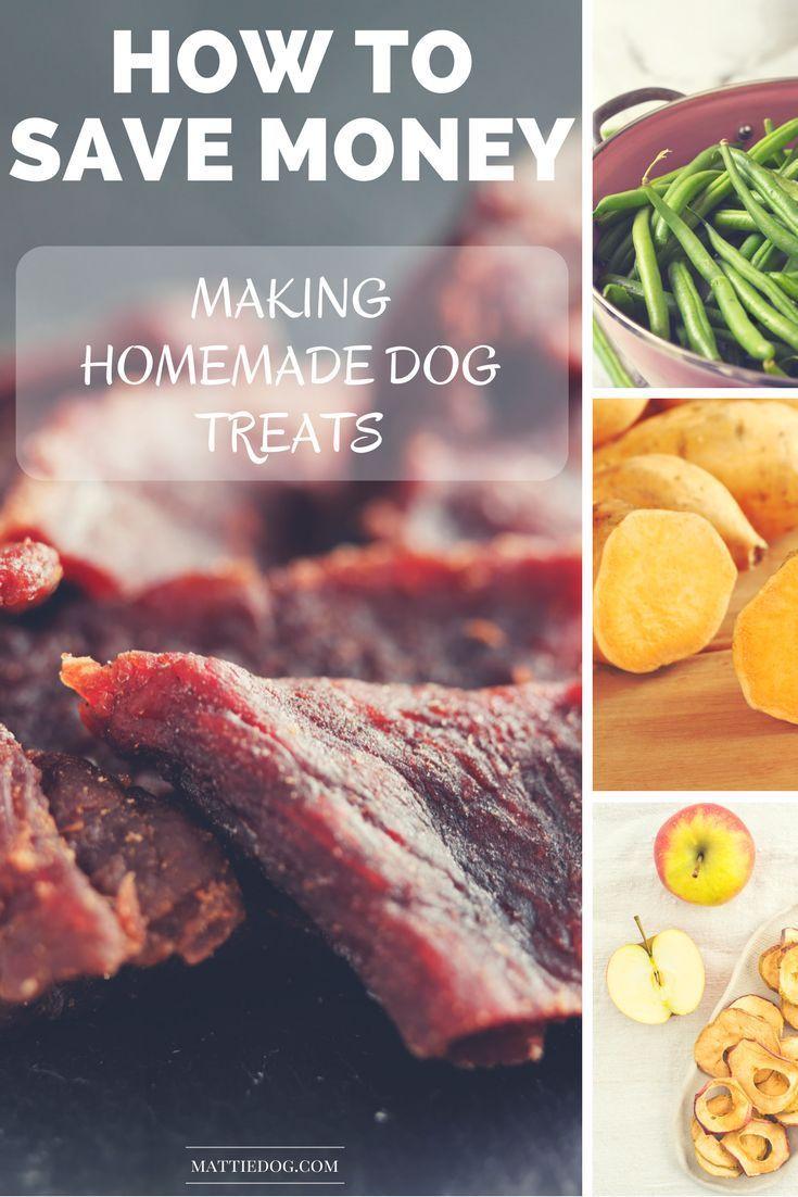 We help you save money by teaching you how to make homemade dog treats! By Rebecca Sanchez, The Pet Lifestyle Guru at MattieDog! homemade dog treats, DIY dog treats