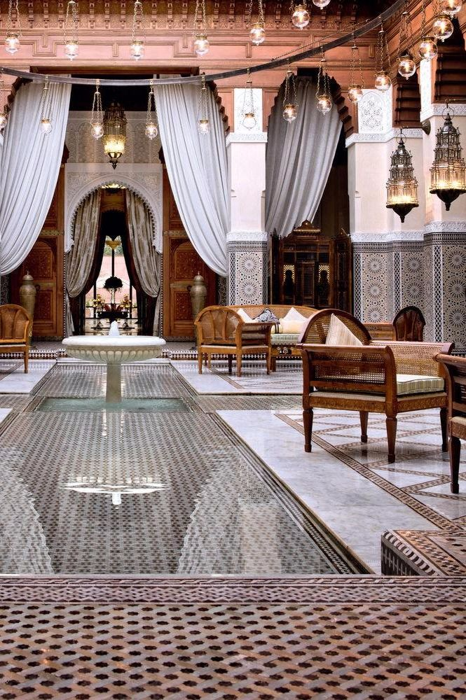 As good a place as any to relax. Royal Mansour Marrakech (Marrakech, Morocco) - Jetsetter