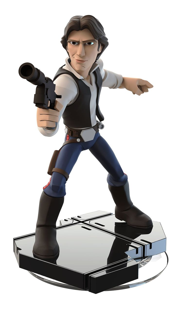 Figurine han solo (star wars : rise against the empire) - disney infinity 3.0: PC: Amazon.fr: Jeux vidéo