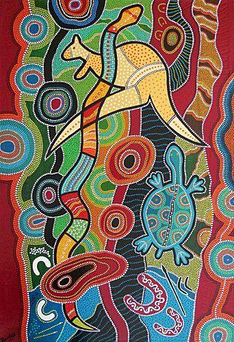 Art aborigène / dreamtime Version Voyages, www.versionvoyages.fr
