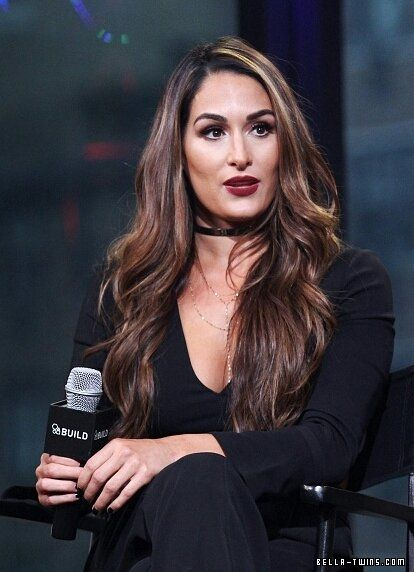 "BUILD Speaker Series Presents WWE superstars Nikki And Brie Bella Discussing Their E! Show ""Total Bellas"" - wKctQdUK - DOUBLE GLAMOUR // Your largest Brie & Nikki Bella Photo Archive, with over 300,000 photos"