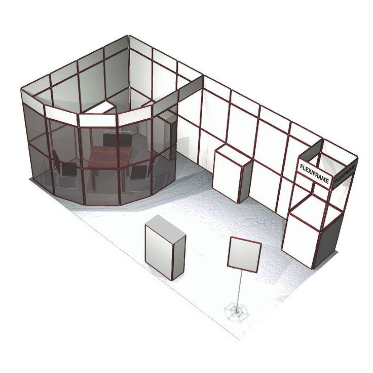 Válasszon költségkímélő kiállítási standot!  http://www.mobildisplay.hu/tradeshow_flexiframe.html