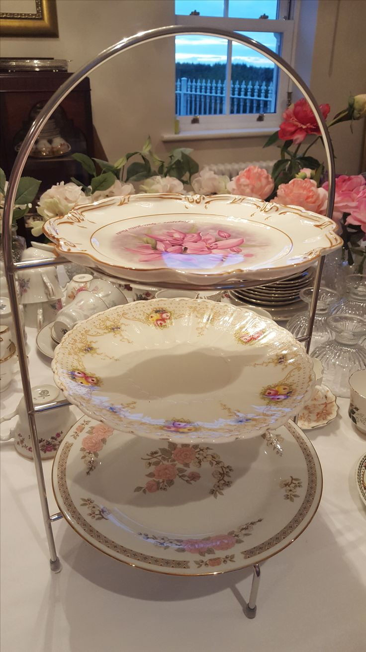 Afternoon Tea cake stand for hire!
