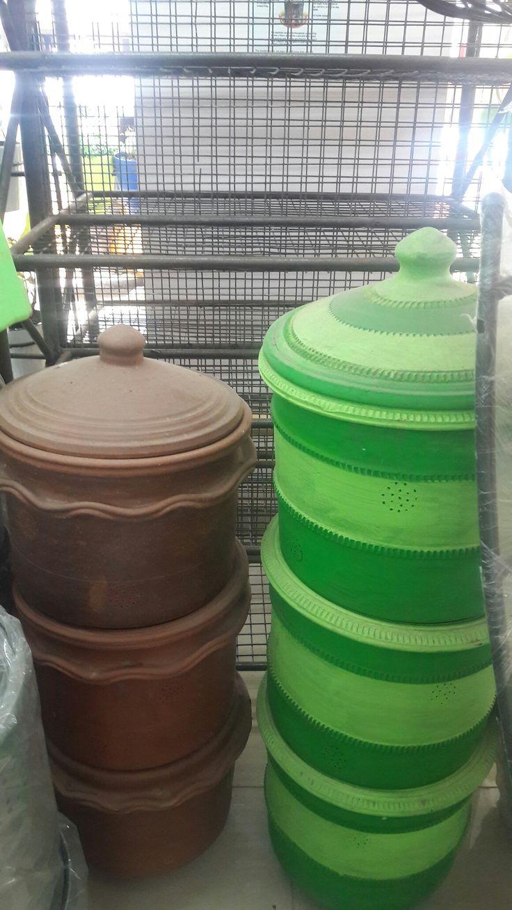 Terracotta composte bins