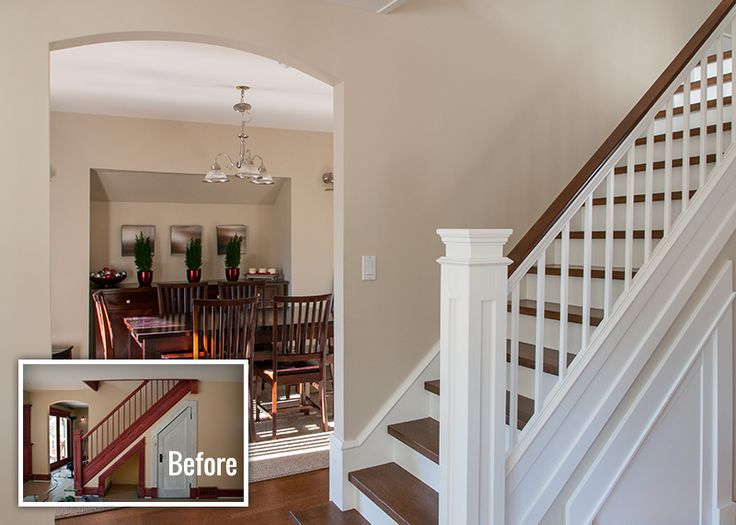 14 Best Images About Paint The Wood Trim On Pinterest Before And After Pictures Benjamin