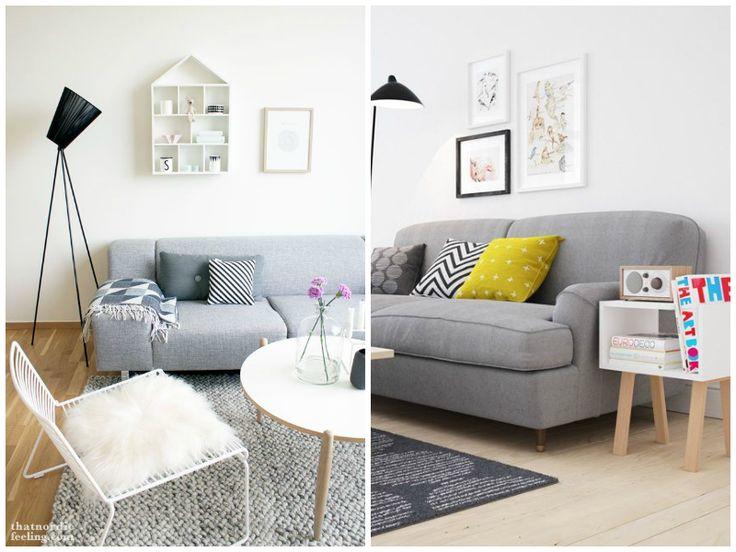 Sillones grises para todos la bici azul blog de decoraci n tendencias diy recetas y arte for Sofa moderne marron gris