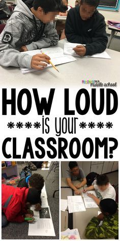 """How loud is your classroom? How loud should it be? This blog post talks all about """"the sound of learning"""" and what that means about appropriate noise levels."""