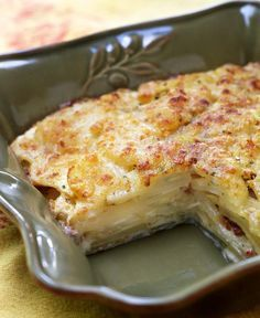 Celery Root Gratin from Leite's Culinaria