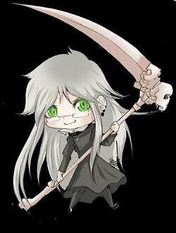 Kurushitsuji (Black Butler) Undertaker Chibi Version https://www.facebook.com/Blackbutler.xD
