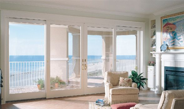 1000 images about patio doors on pinterest home for Sliding glass doors that look like french doors