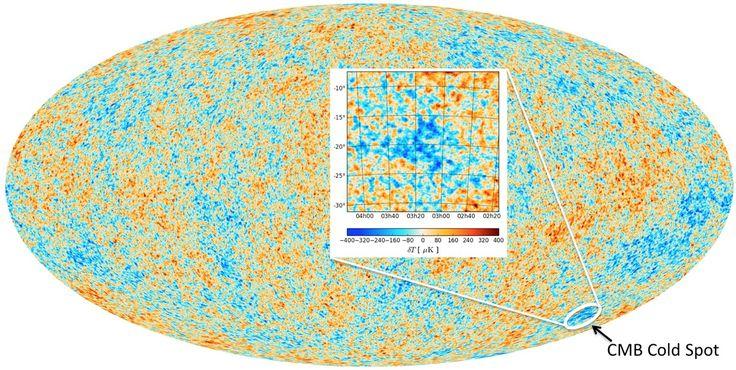 Existiría más de un universo y este punto frío en el espacio nos da la pista   N+1: artículos científicos, noticias de ciencia, cosmos, gadgets, tecnología