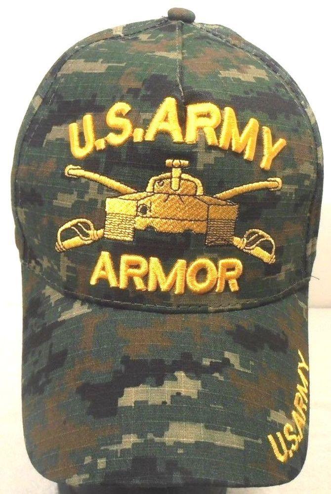 34edf88e5 MILITARY BALL CAP U.S. ARMY ARMOR HAT DIGITAL CAMO #fashion ...