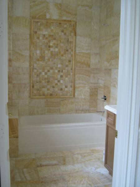 63 best images about onyx on pinterest for Bathroom designs 12x12