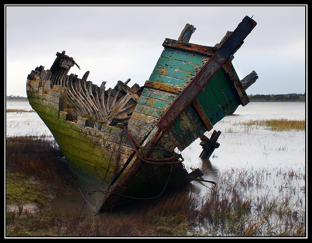 A ship wreck. A life wreck. A heart break. We see romance, but they saw tragedy. Maybe tragedy weathered with time into romance.
