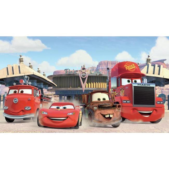 York Wallpaper JL1303M Walt Disney Kids Ii Disney Cars Frnds Finish Xl Mural