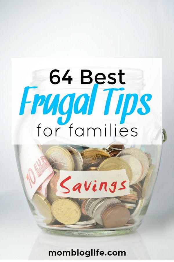 Frugal living tips to help families save money. The frugal tips are easy to incorporate into everyday living. #frugaltips #frugalfamily #frugallivingtips