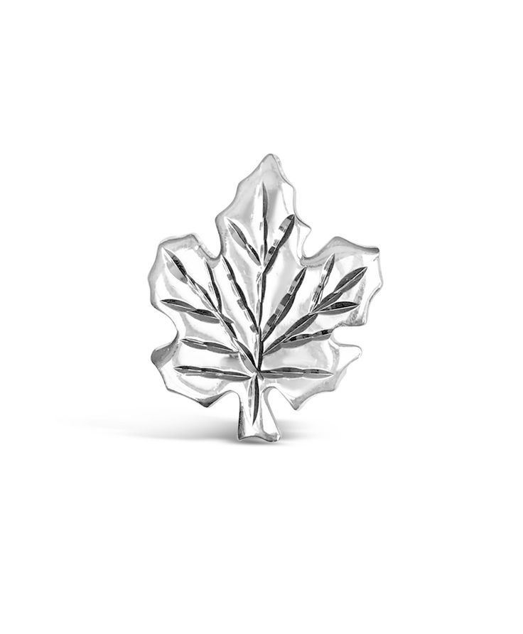 Show your Canadian pride with this brilliant sterling silver pin and pendant 2-in-1! This piece doubles as both a pin and pendant for you to wear it many different ways. Whether you're going to a Canada Day BBQ or showing your pride daily, this piece is perfect!