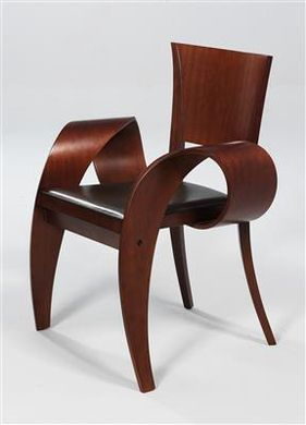 """A """"Patty Diffusa"""" easy chair, designed by William Sawaya in 1993 for Sawaya  Moroni/Italy"""