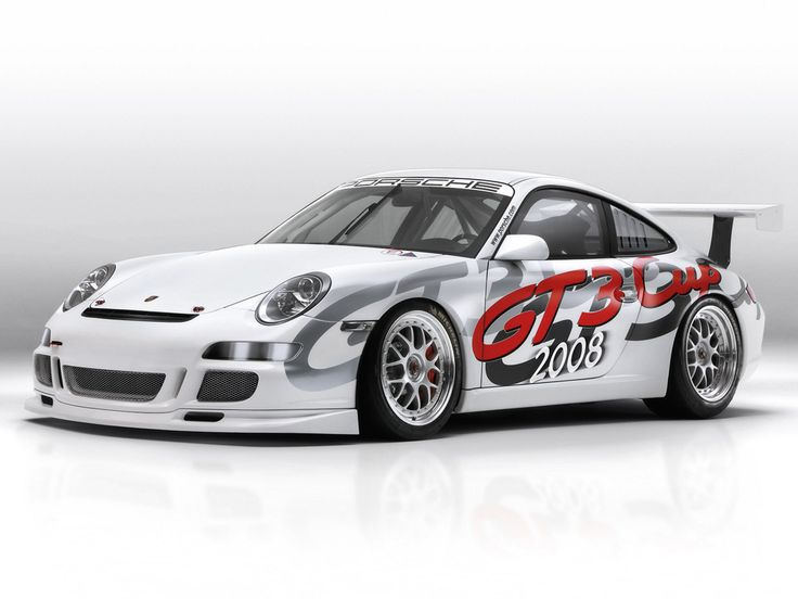 2008 Porsche 911 GT3 Cup Race Car Check out THESE Porsches! --> http://germancars.everythingaboutgermany.com/PORSCHE/Porsche.html