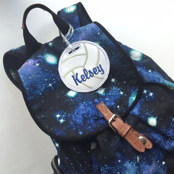Etiqueta del bolso voleibol personalizados regalo del equipo