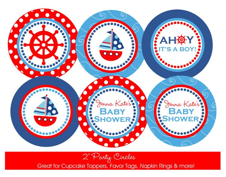 nautical theme cupcakes nautical baby showers and nautical baby