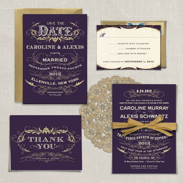 A Printable Press can give you amazing AND affordable wedding invitations!   Offbeat Bride