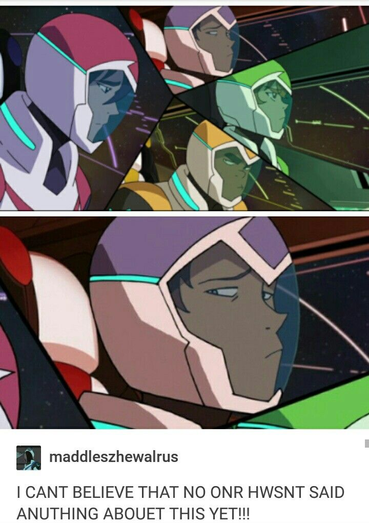 He looks like he just feels bad for Keith, like he gets what he's going through but he's gotta stop