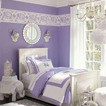 Interior Design Bedroom Purple