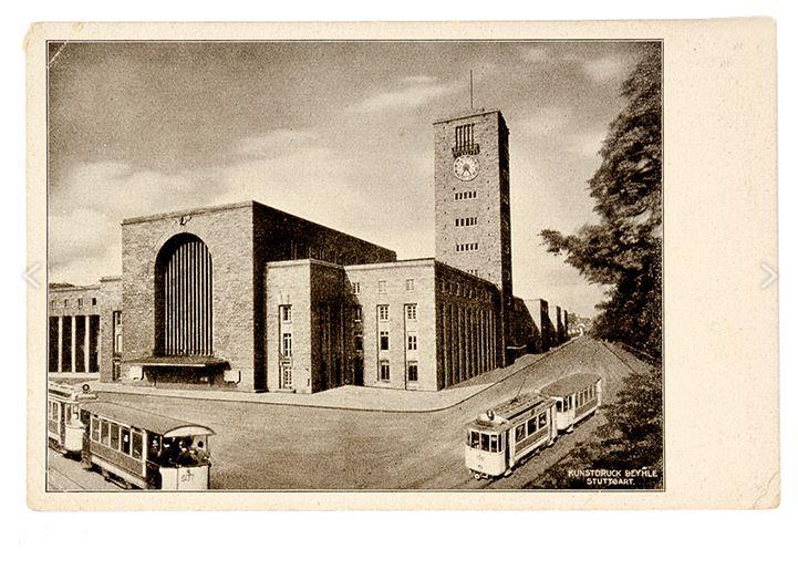 Stuttgart, Bahnhof, Paul Bonatz