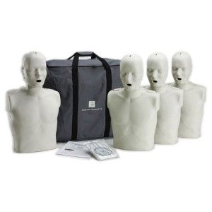 Prestan Adult Manikin with CPR Monitor, 4-Pack - AED.com