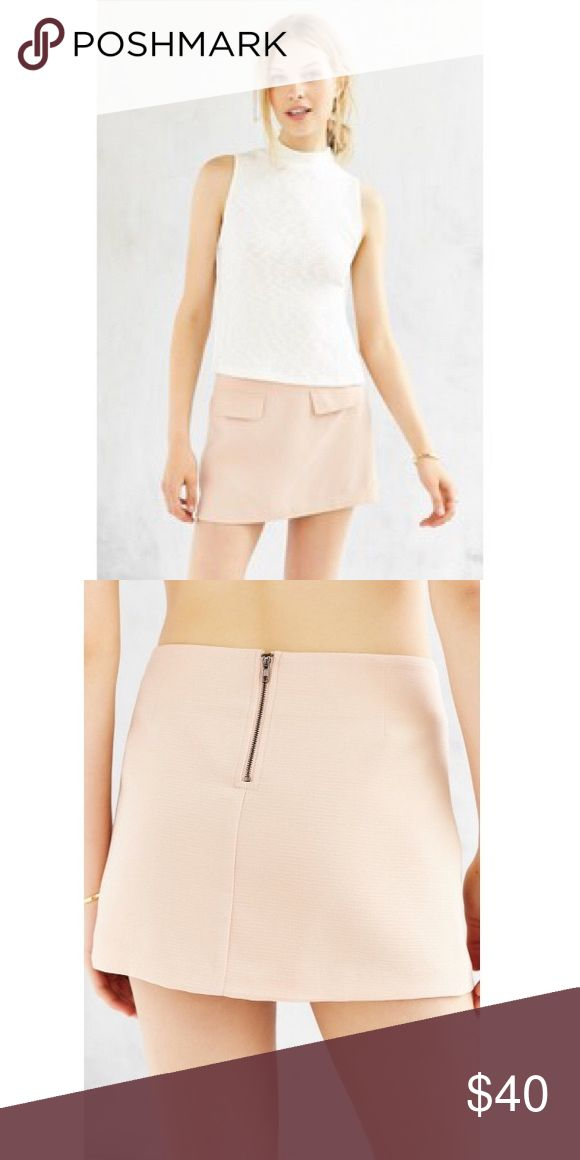 Micro Mini Skirt cute micro mini with faux pockets, zip up back. sold out in stores. NWT 💥final price-no offers💥 Urban Outfitters Skirts Mini