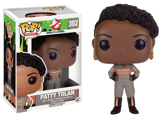 Ghostbusters 2016 POP! Movies Vinyl Figur Patty Tolan 9 cm
