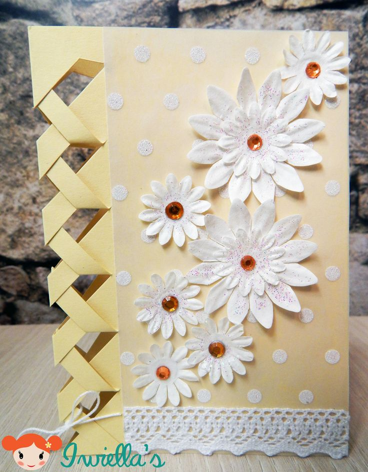 Braided birthday card | Iwiella's