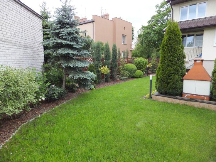 Widok na ogród po zmianach.