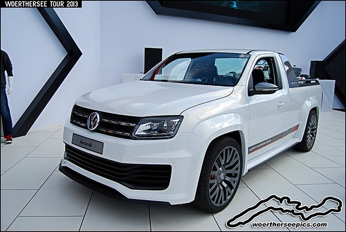 Volkswagen Amarok Concept at the Woerthersee Tour GTI-Treffen 2013