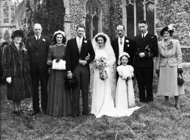 Suffolk Wedding, 1949