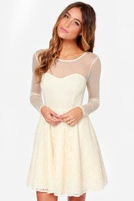 1000  ideas about Cream Lace Dresses on Pinterest - Pretty dresses ...
