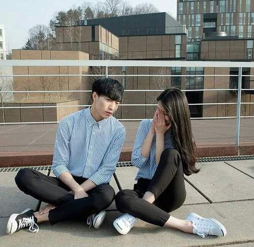 couple goals | korean couple fashion
